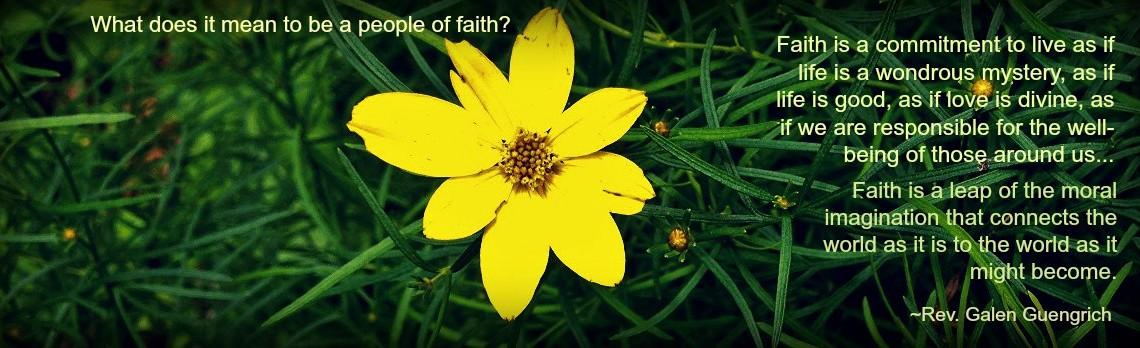Minister's Mind: Faith