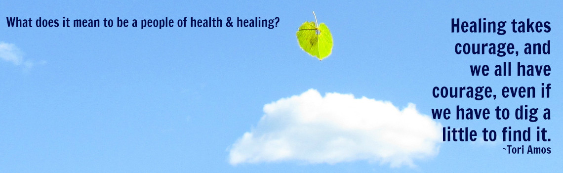 Minister's Mind–Health & Healing